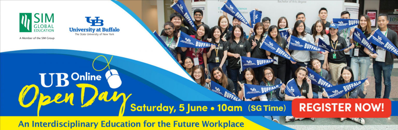 UB Open Day 2021 Web Banner